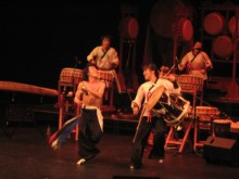 Dancing Drummers from Dulsori