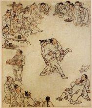 Kim Hong-do Wrestlers (not the BM copy)