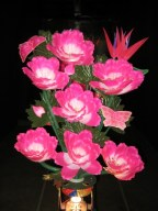 Choi Jeong-hwa: Pink Flowers - close-up