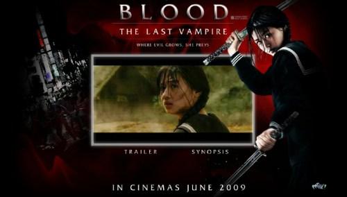 Blood: the Last Vampire website