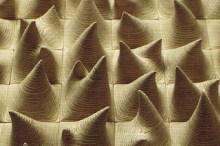 Cha Jongrye: Expose, Exposed II (Wood, 70 x 70 x 7cm) (detail)