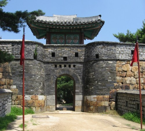 Yongdodongchi - the Turret east of Yongdo - in the Hwaseong fortress