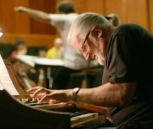 Deep Purple's keyboardist, Jon Lord