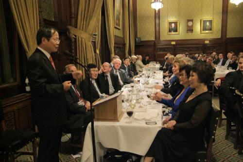 Ambassador Chun notes the strong ties between the UK and Republic of Korea