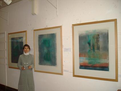 Francesca Cho's Hangeul Spirit exhibition in Fulham