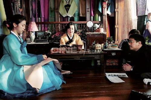 Lady Ra runs the hanbok shop