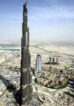 Burj Dubai, the tallest building in the world