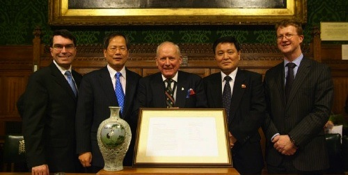 The Anglo Korean Society Four Ambassadors event