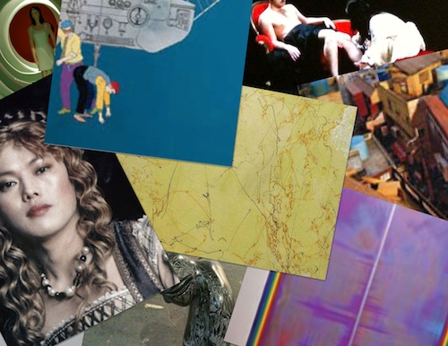 Some of the works on show at 4482 in 2010