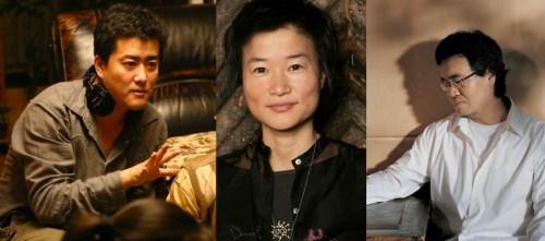 Kang Yi-kwan, Kim So-yong and Shin Dong-il