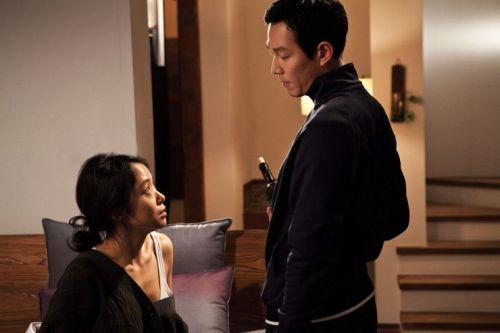Jeon Do-yeon and Lee Jeong-jae in Im Sang-soo's Housemaid remake