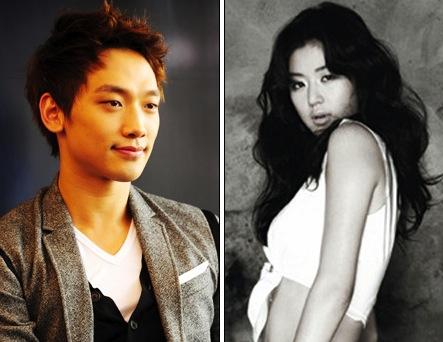 Rain and Jeon-Ji-hyun