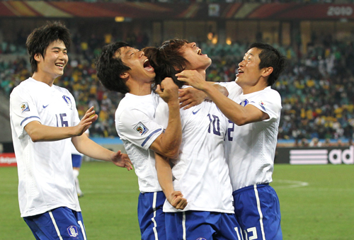 South Korea celebrates
