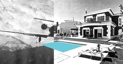 Hyemin SON: Sunny Places.  Ink-Jet Print, 21.9 x 42 cm, 2010