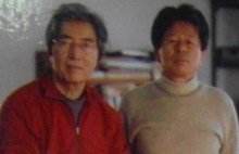 Min Young Ki with Hosokawa Morihiro
