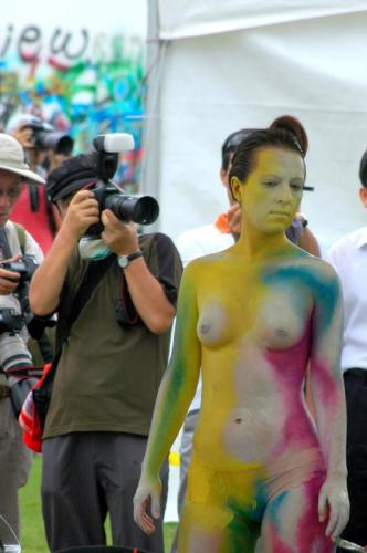 Daegu International Body Painting Festival 2010 - Photo by Chris Backe