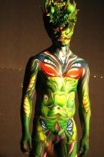 Daegu Body Painting Festival 2010 - photo by Chris Backe