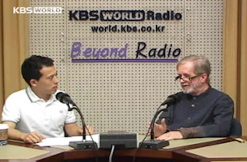 David Kilburn on KBS radio