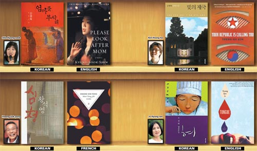 Korean authors in translation