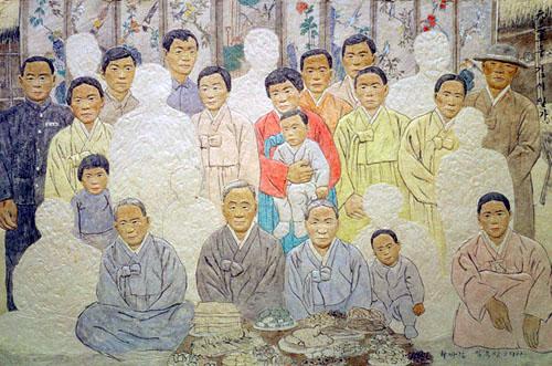 Lim Ok-sang - Kim Family after the Korean War