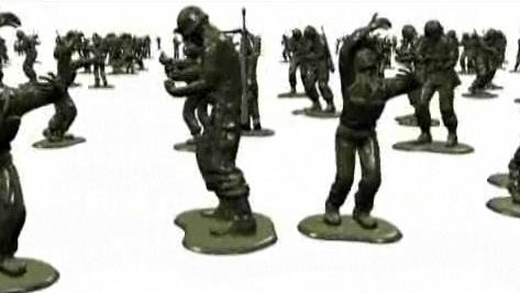 Jeon Joon-ho - Statue of Brothers (still from digital video)
