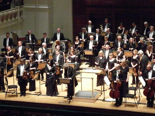 Inhye Kim and Grzegorz Nowak with the Royal Philharmonic Orchestra