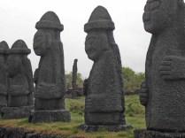 Jeju Dolharubang at the Stone Park