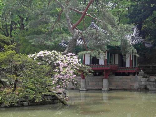 The Buyongjeong pavilion