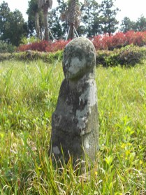The tomb of an exiled yangban in Jeju-do