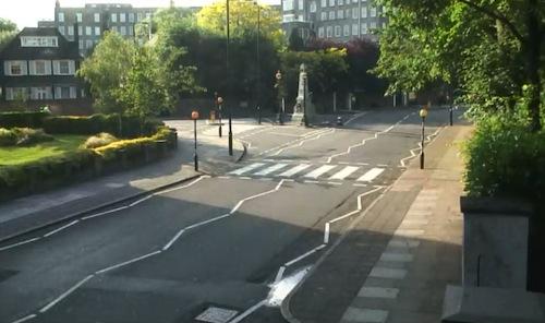 Abbey Road 7.45am