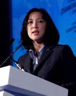 Theresa Rah, Pyeongchang spokeswoman