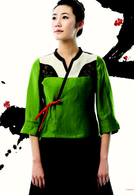 Hanbok design from http://www.dolsilnai.co.kr