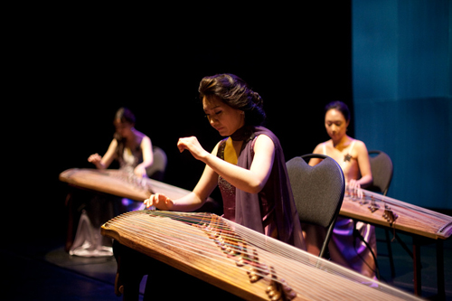 Sooeun Kwak and La-on G Gayageum Ensemble