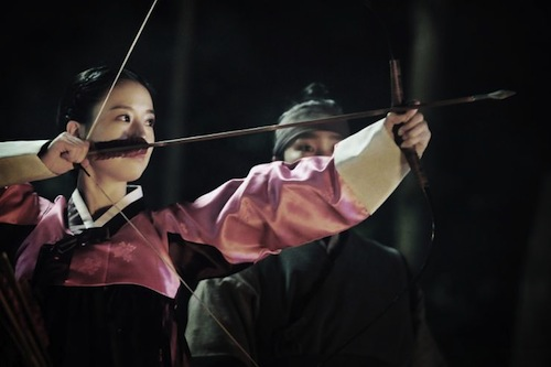 Moon Chae-won as Ja-in, abducted by the Manchurians