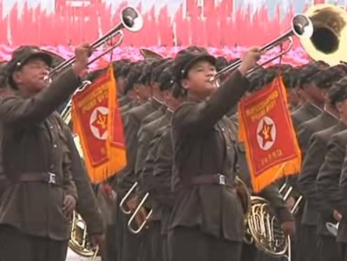 DPRK-parade