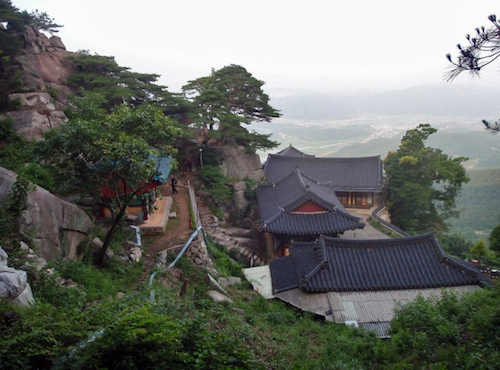 Jeongchuiam, high in the mountains of Sancheong