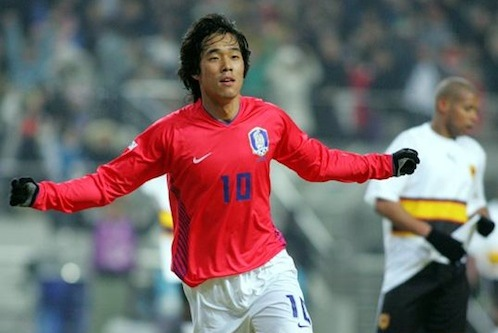 Featured image for post: Park Chu-young's stay at Arsenal won't be long