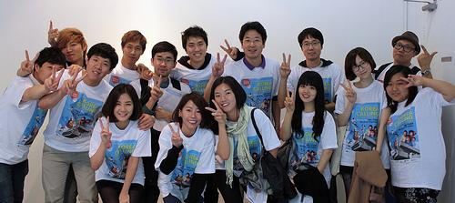 Some of the Korea Calling volunteers