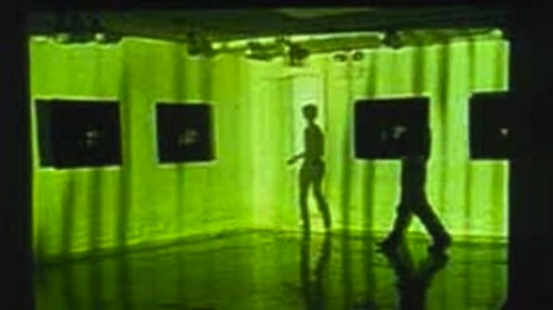 Performance with Video Projection, Ja-Young Ku