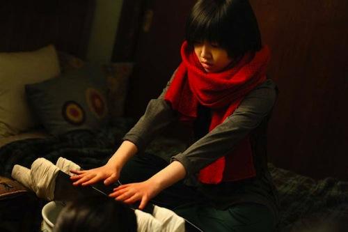 So-jin undergoes a shamanistic ritual