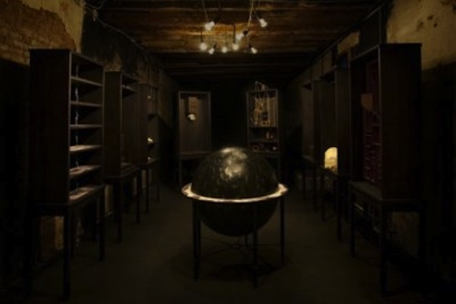 Woojun Chun Library Installation as part of the 53rd Venice Biennale