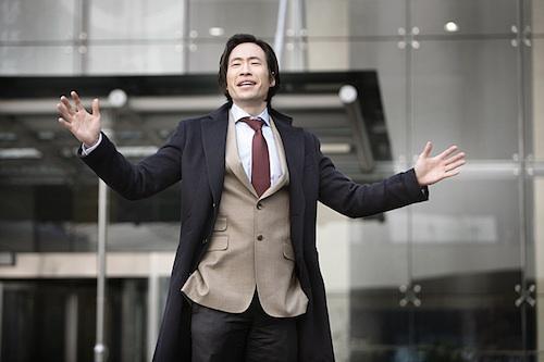 Top insurance salesman Bae Byeong-woo (Ryu Seung-beom)