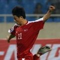 North Korean striker Moon In-gook