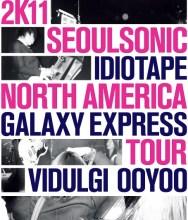 SEOULSONIC Tour Poster