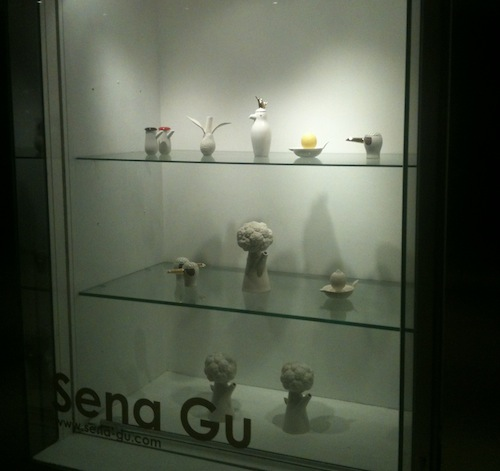 Sena Gu's ceramics