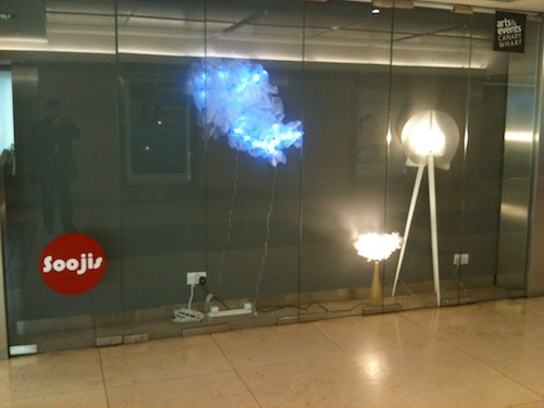 Shin Soo-ji's lamps and chandeliers, till 24 February 2012