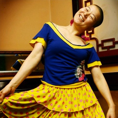 Choreographer Ahn Eun-mi: responsible for the song & dance numbers