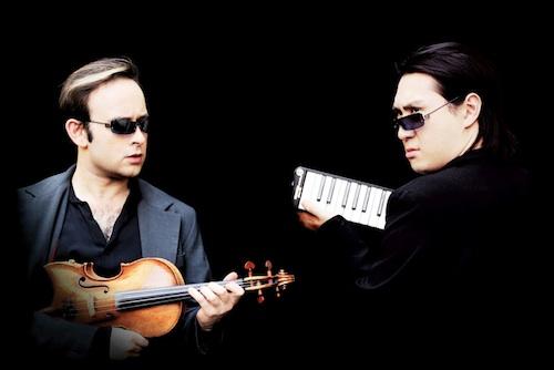 Aleksey Igudesman (left) and Hyung-ki Joo