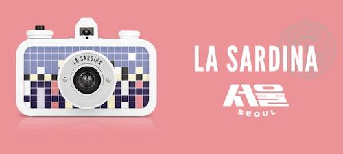 La Sardinia Seoul - new Lomography camera