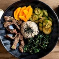 Posh bibimbap in the New York Times